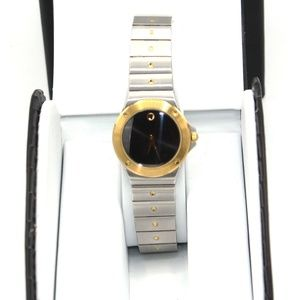 Movado S.L. Ladies, Black Museum Dial